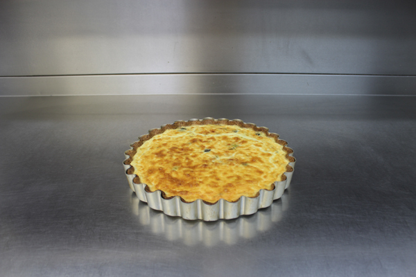 Leek, Onion, Cheddar & Thyme Quiche Finish