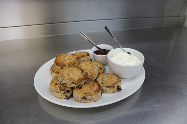 Sultana Scones Finished